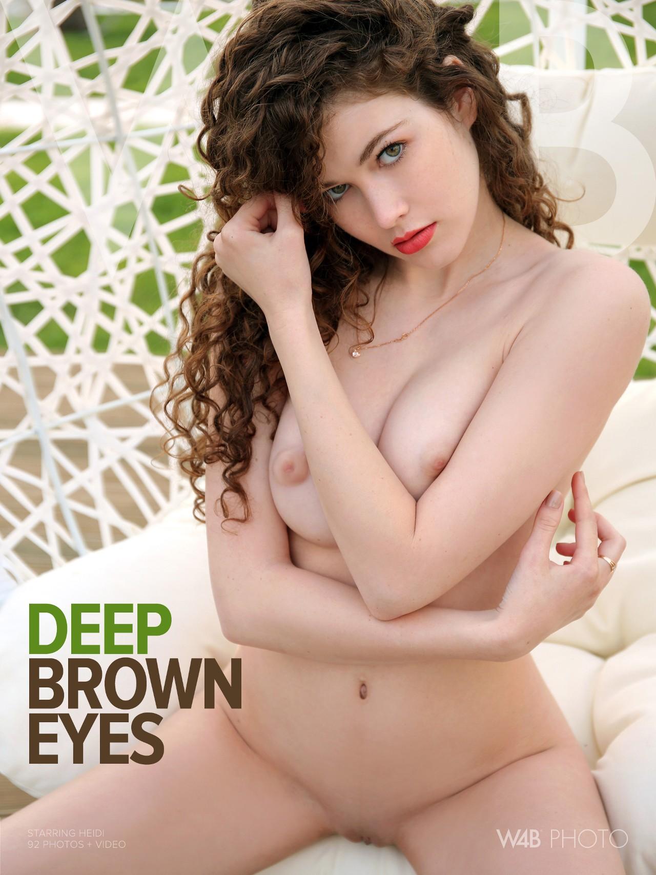 Heidi: Deep Brown Eyes
