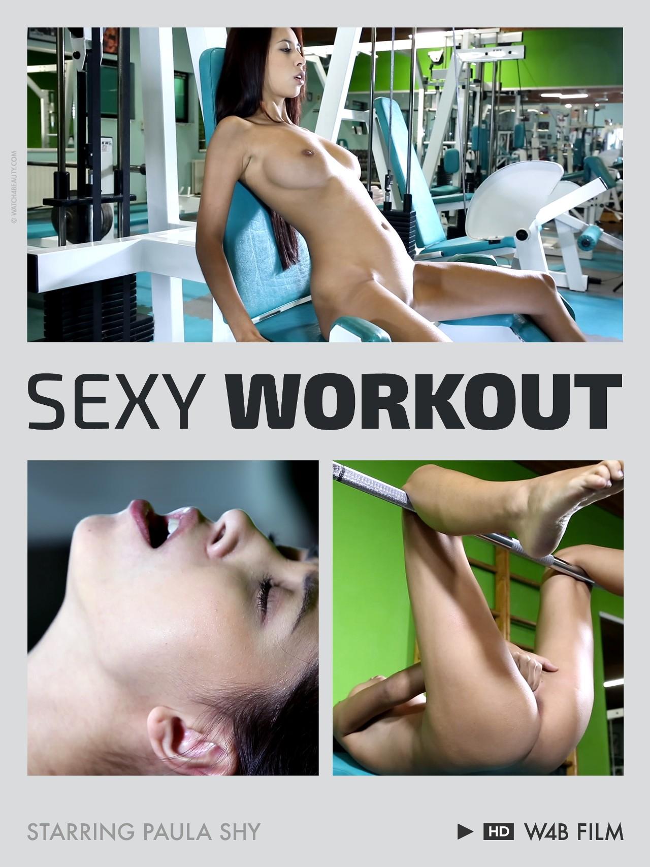 Paula Shy: Sexy workout