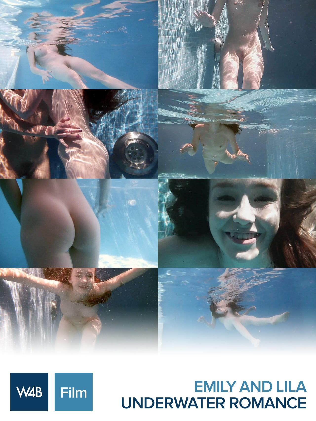 Emily, Lila: Underwater romance